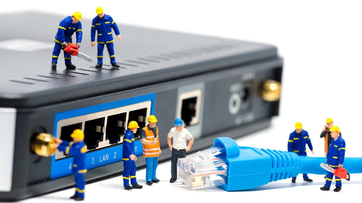 مشکل کم شدن سرعت اینترنت adsl